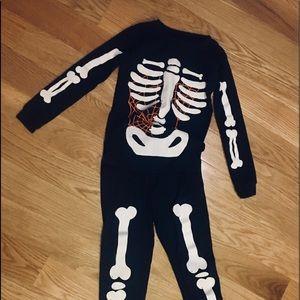 Carter's Halloween Glow in the Dark Skeleton PJ's